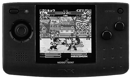 NeoGeo Pocket Classic Black and White
